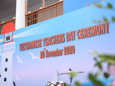 Lễ Mít-tinh Chào mừng ngày Nhà giáo Việt Nam năm học 2020 - 2021