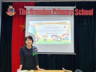 Phát động phong trào thi Giáo viên dạy giỏi cấp cơ sở Năm học 2020 - 2021