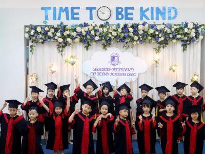 Chương Trình Tiền Tiểu Học PRE-B, Năm học 2020 - 2021